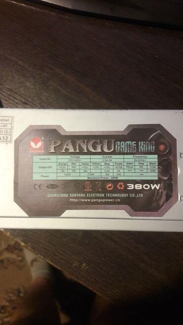 Pangu GAME KING 380W подойдет для пк с видеокартой типа gtx650 - gtx