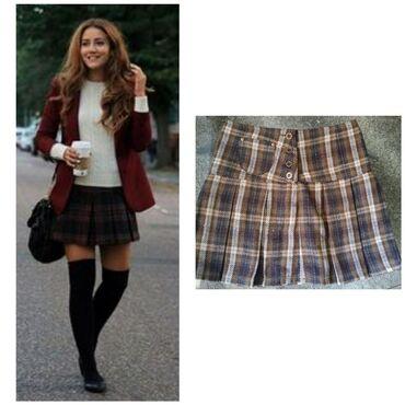 Nova Camaieu suknja od debljeg materijala, idealna za jesenje i zimske
