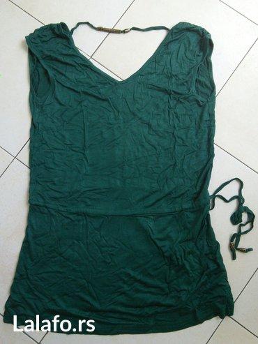 Rasprodaja! Zelena haljina-tunika za plažu, potpuno nova. Veličina - Crvenka