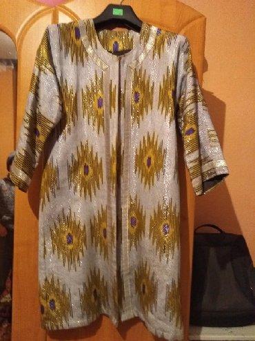 Женская одежда - Милянфан: Накидка Икат. Новая из Ташкента.Размер 46-48-50