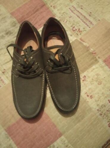 Мужские ботинкис нубук ! Цена со скидкой 500сомновые ! 37 размер
