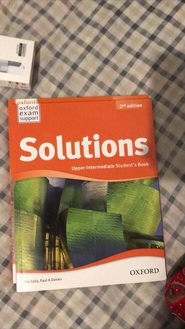 журналы на английском в Кыргызстан: Продаю учебники solutions Новые, нигде не писали/не рисовали