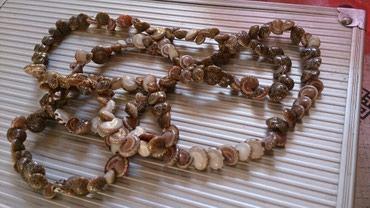 Ogrlica skoljkiicee novaaa prelepa dobijena na poklon i samo stajala - Cuprija