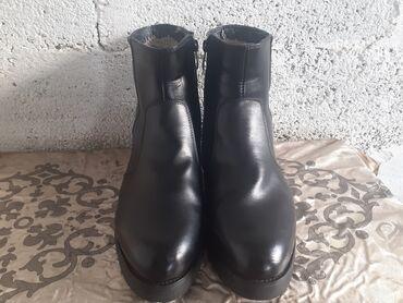 Женская обувь - Кыргызстан: Новые туфли ботинки не раз не ношеный подходит к классическому костюму