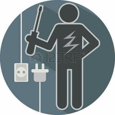 курсы-электромонтажника в Кыргызстан: Услуги электромонтажника.  Установка электрических приборов
