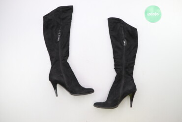 Жіночі чоботи на підборах р. 37    Висота підбора: 9 см Висота халяви