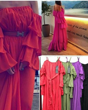 Polovna haljina jednom nosena,crvena boja i isti model kao sa - Novi Sad