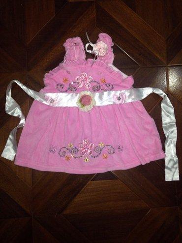 платье на 3-9 месяцев цена 200 в Бишкек