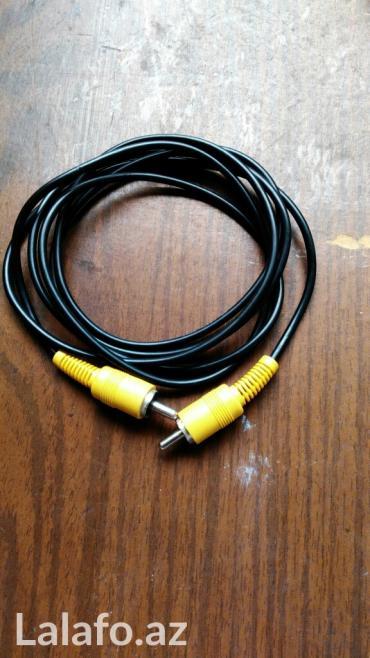 Bakı şəhərində Video kabel satilir.. Dvd, kamera, tuner qosula biler.. Diger