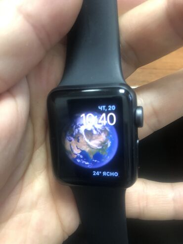 tufli na shnurkakh в Кыргызстан: Черные Унисекс Наручные часы Apple