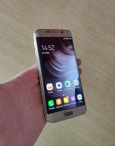 Samsung Galaxy S6 Edge   32 GB   Qızılı   Çatlar, cızıqlar, Sensor, Barmaq izi