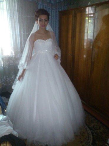 Продаю нежное свадебное платье.В в Бишкек