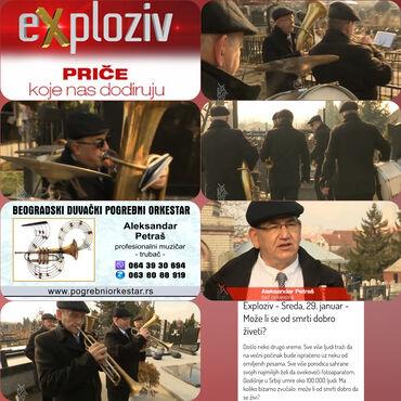 Ujedno dosta - Srbija: Trubači pogrebni orkestar bleh muzika za sahrane SrbijaPosebno teški