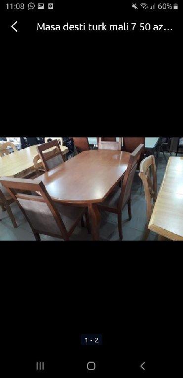 деревянный стол на кухню в Азербайджан: ТУРЕЦСКИЙ СТОЛ КАМПЛЕКТ С ДОСТАВКОЙ В АДРЕС