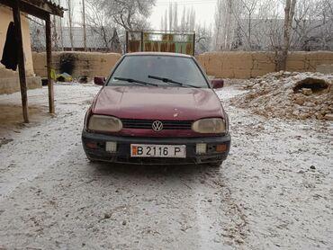 Ам керек москва - Кыргызстан: Volkswagen Golf 1.8 л. 1992   4586636 км