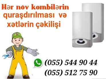Bakı şəhərində Kombi ustasi