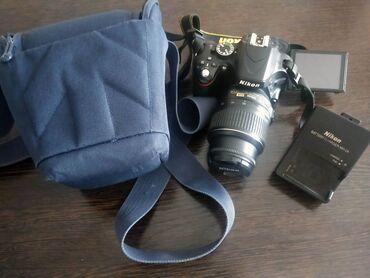 Фото и видеокамеры - Кыргызстан: Nikon D5100 + 18-55MM, зарядка сумка. Пробег 19836. В центре до пятниц