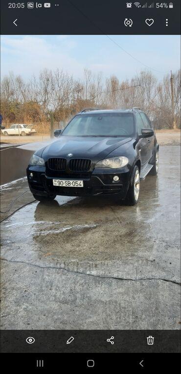 bmw m5 4 4 m dkg - Azərbaycan: BMW X5 4.8 l. 2007 | 180000 km