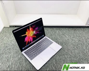 Электроника - Бишкек: Macbook pro с сша-модель-a1706(touchbar)-процессор-core