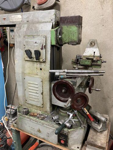 фрезер ручной в Кыргызстан: Продам настольный фрезерный станок НГФ110-Ш4 + ВФГ + Тиски (комплектны