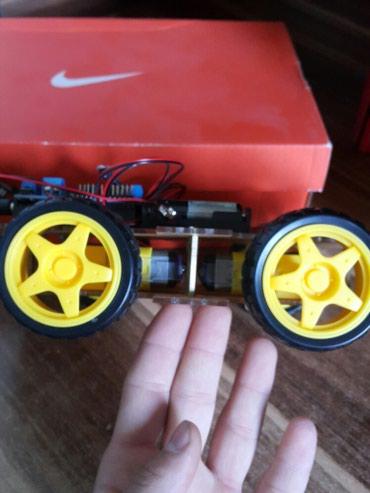 диплом в Кыргызстан: Машина ручной сборки на Arduino.  Делалась для диплома.  Все работает