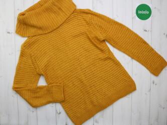 Теплый женский вязаный свитер Casual Clothing,р.S            Длина: 60