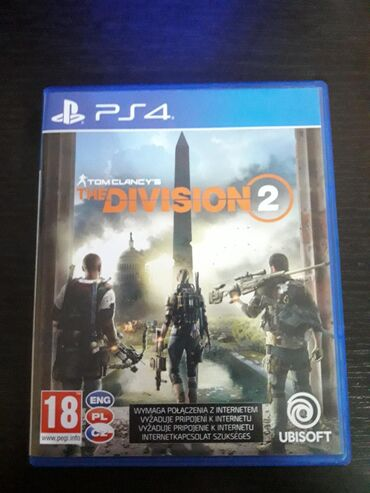 Cipele-ps - Srbija: The division 2 PS4Video igra u dobrom stanju.Cena 2000din( PS4