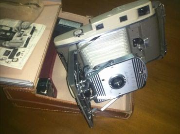 Polaroid 800 land camera vintage συλλεκτική με πλήρες βαλιτσάκι