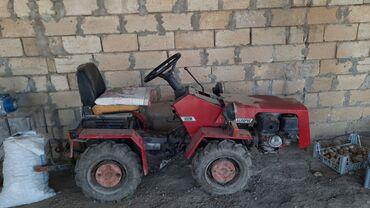 Yük və kənd təsərrüfatı nəqliyyatı Ətcələrda: Беларус мтз 132H (Mini traktor)