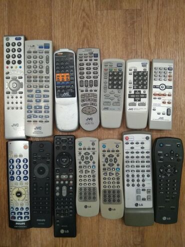 муз центр филипс в Кыргызстан: Продаю пульты разные на телевизоры, муз.центры, DVD, автомагнитолы