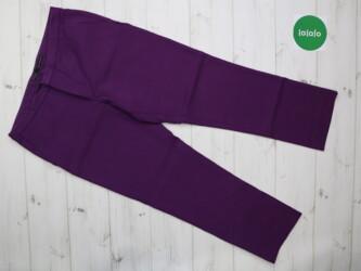 Женские брюки Zara, р. М    Длина штанины: 83 см Шаг: 62 см Пояс: 40 с
