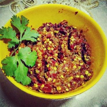 Приправа из перца Чили, чеснока и специй. Аджика. Оптом дешевле в Бишкек