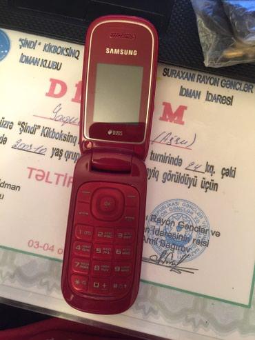 Телефон флай красного цвета - Азербайджан: Samsung