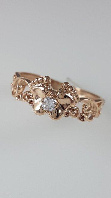 Чёрные кольца из вольфрама - Кыргызстан: Кольца из красного золота 585проба Вставка циркон Размер кольца от