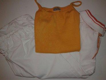 Majica i pantalone 3/4 velicina 8-10 - Jagodina