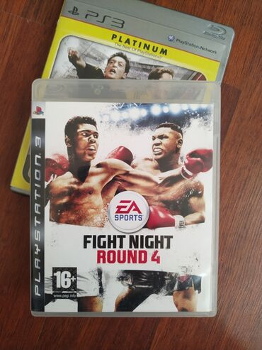 "Sony Playstation 3 Modelleri Üçün ""FİGHT NİGHT ROUND 4"" Original Oyun"