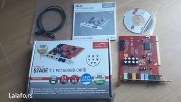 Zvucna kartica stage 7. 1 speedlink pci sound card,  - Krusevac