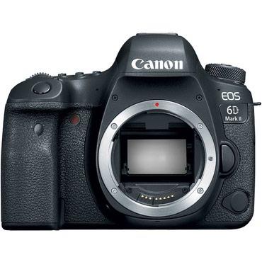 Canon EOS 6D Mark II BodyXüsusiyyətləri:Sensor - 26.2MP Full-Frame