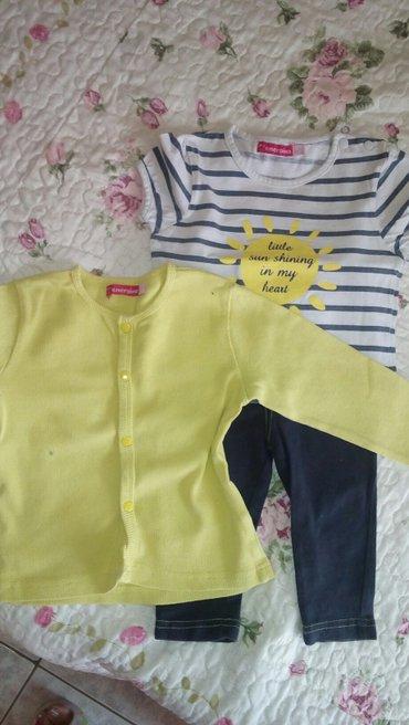 Για χρονων κοριτσακι.σετ με κιτρινη ζακετα 6.φουξ με φλοραλ μπλουζακι