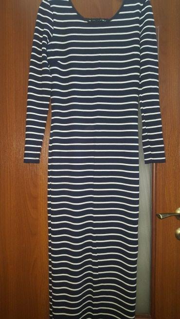 Платье трикотаж, одето пару раз, длина в пол, размер 46/48 в Бишкек