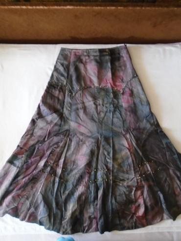 Suknja struka od - Srbija: Predivna i raskošna suknja od kvalitetnog punijeg svilenkastog