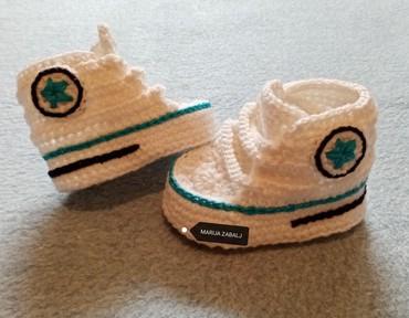 Dečije Cipele i Čizme | Zabalj: Heklane bebi starkeRučno heklane od mekane, akrilne vunice.Rađene za
