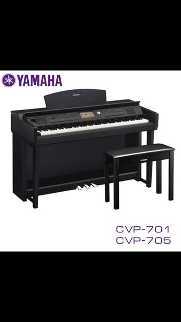 Синтезаторы в Кыргызстан: Фортепиано Yamaha cvp-701 клавинова -пианино 88 клавиш gh3x (graded