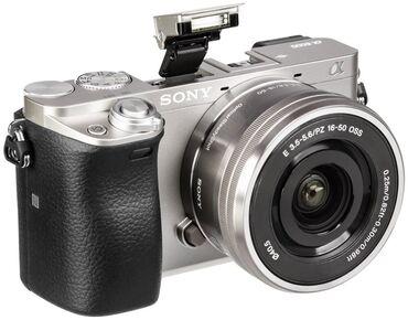 Видеокамера флешка - Кыргызстан: Беззеркальная камера SONY Alpha A6000 Объектив : Kit 16-50Цвет