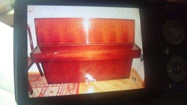 Bakı şəhərində Пианино немецкое, Рениш с 2мя педалями, совсем мало использовано,