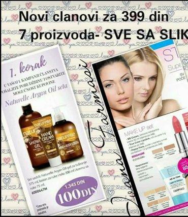 Farmasi -prirodna kozmetika,tražim saradnike za prodaju. - Novi Sad