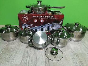 Ostala oprema za kuhinju | Srbija: Posuđe Zurrichberg 12 delovaAkcija Samo 4.399 dinara.Posuđe