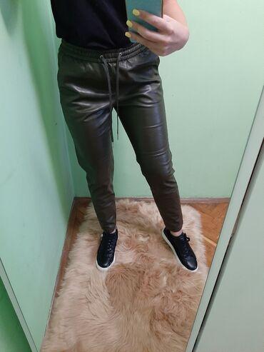 Hm kozne pantalone NOVO