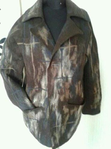 Дизайнерская куртка без швов, мужская, из шерсти merino . в Бишкек