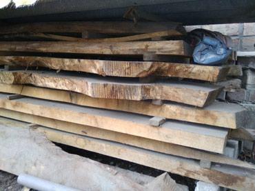Продаю дуб сухой не обрезной 0.6куба длина 3метра толщина 6сантиметров в Бишкек